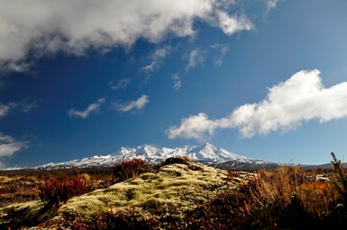Mount Ruapehu central North Island New Zealand