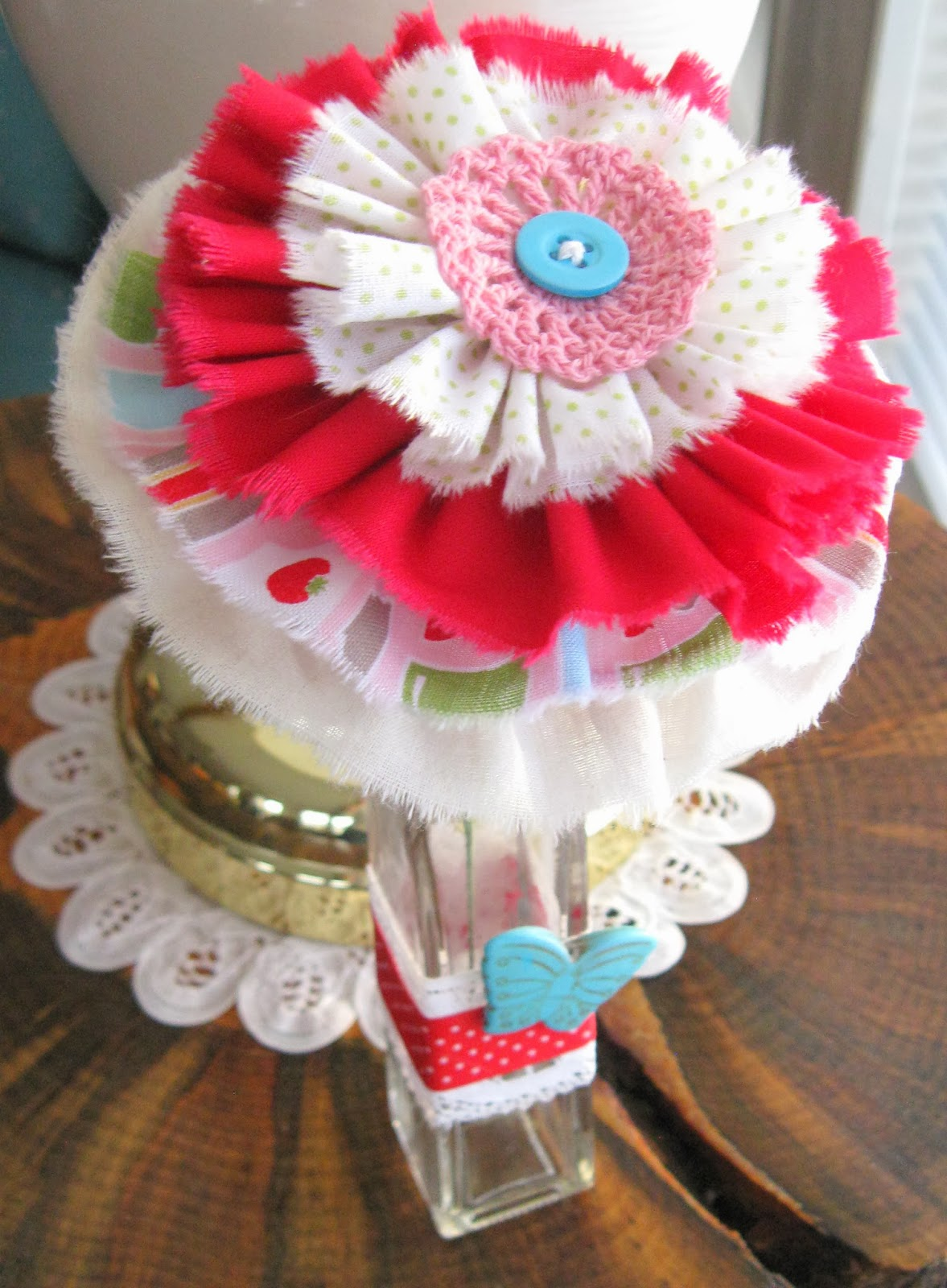 The enchanting rose good morning tags with buttons beads flowers and more reviewsmspy