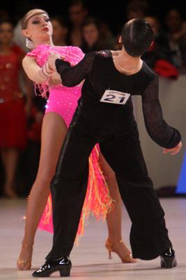 Фото Укринформ:спортивные танцы