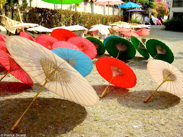 Umbrellas in Bo Sang