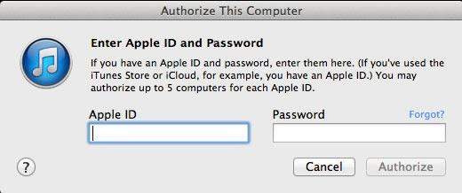 Làm thế nào để khôi phục ID tài khoản iTunes?