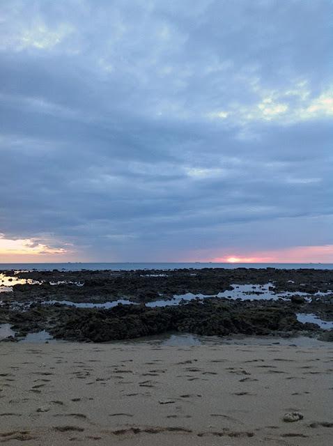 Plage de Klong Khong à marée basse