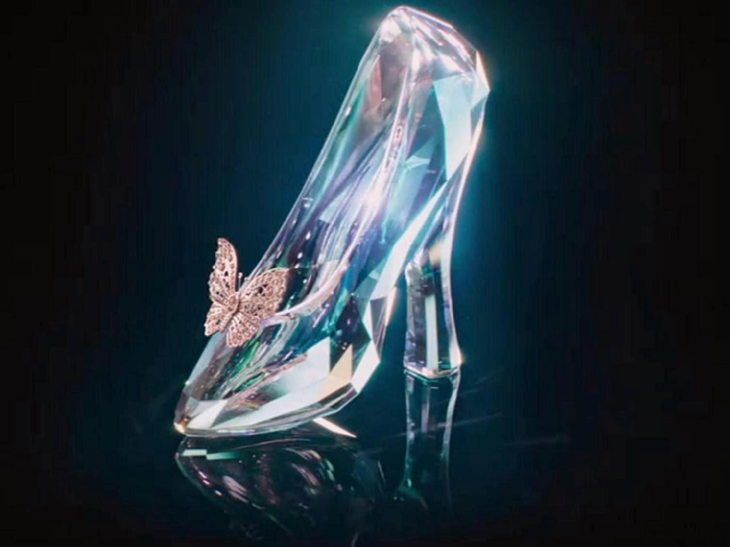 Cinderella Movie 2015 Disney Sepatu Kaca
