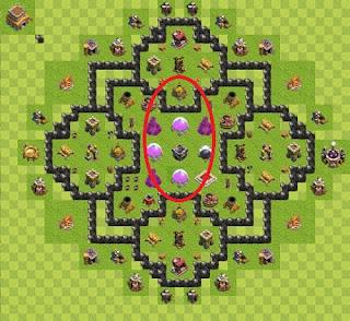 Base TH 8 Farming Clash of Clans Terbaik