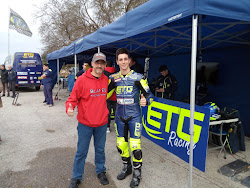 Con Xavier Pinsanch