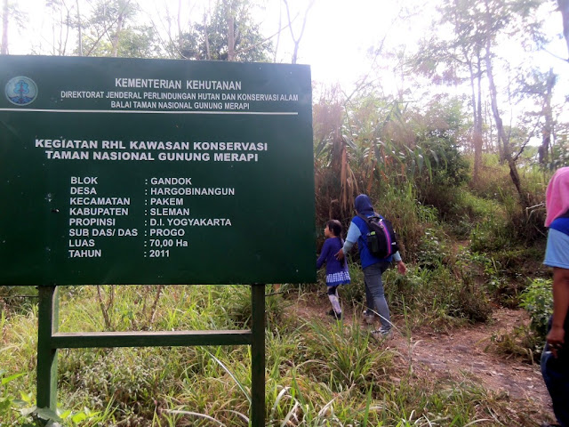Lereng Merapi; hiking; tracking