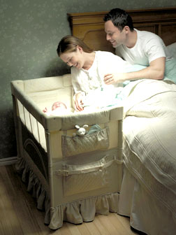 Bassinet Arm Reach2