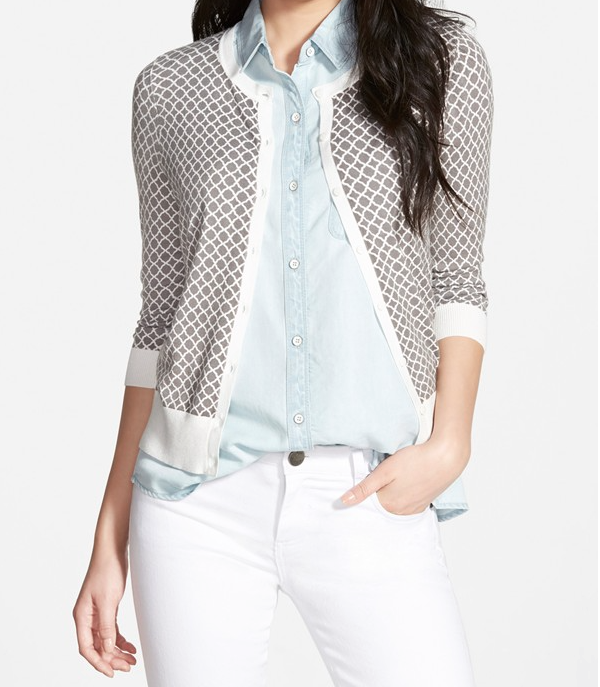 Summer Fashion - Halogen 3/4 Sleeve Cardigan