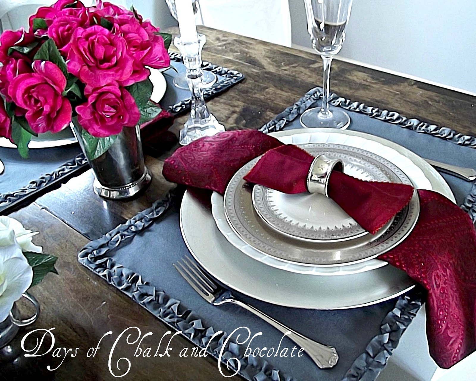 valentine 39 s day tablescape days of chalk and chocolate