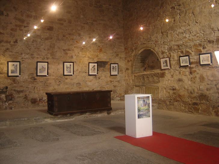 Exposición de acuarelas en Astorga. 2012.