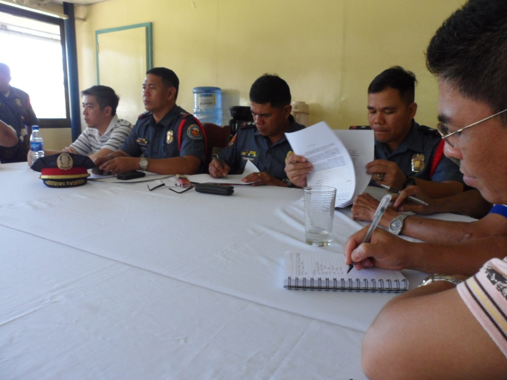 Coordination Meeting last Feb. 1, 2013 at the Conference Room, 2nd