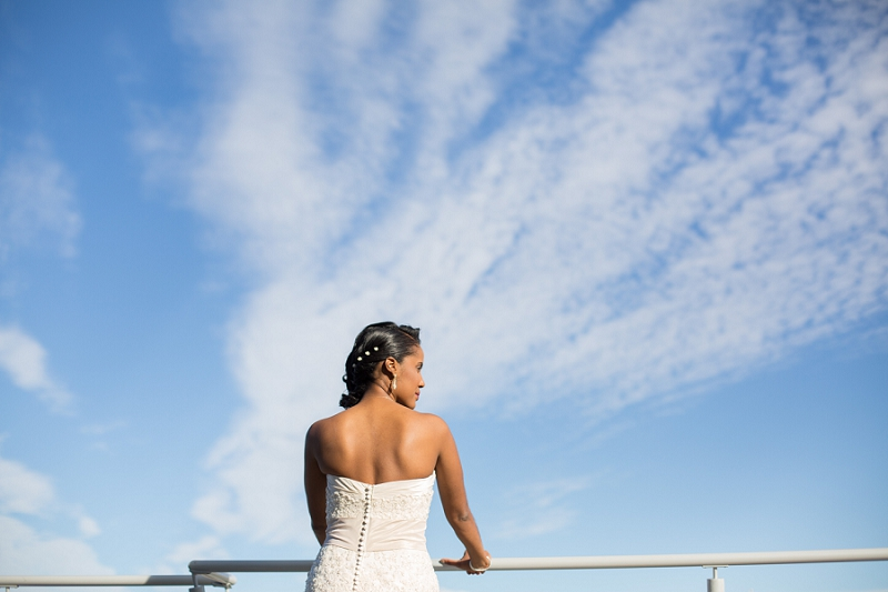 Fort Lauderdale Harbour Beach Marriott Wedding bride