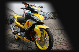 Modifikasi Motor Yamaha Jupiter Z 01