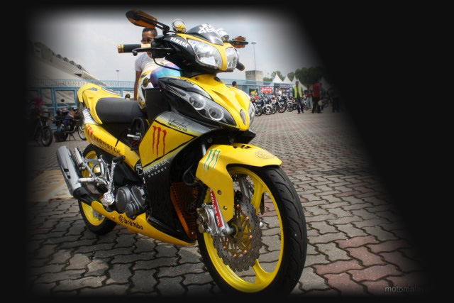 15 Foto Modifikasi Motor Yamaha Jupiter Z 9 Out Of 10 Based On 10  title=