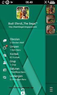 BBM MOD BEGAL Transparan versi 2.8.0.21 apk