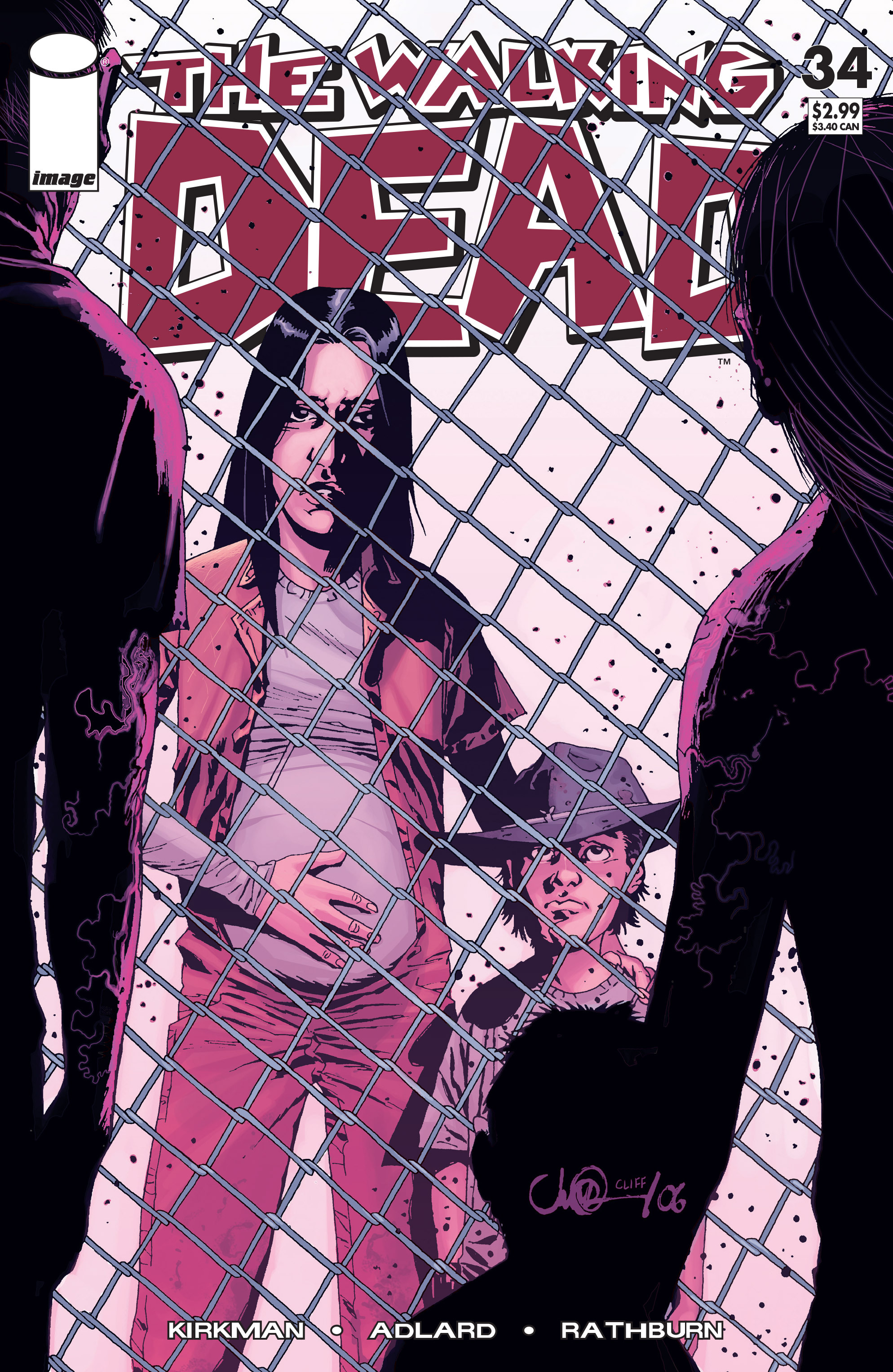 The Walking Dead Issue #34 Page 1