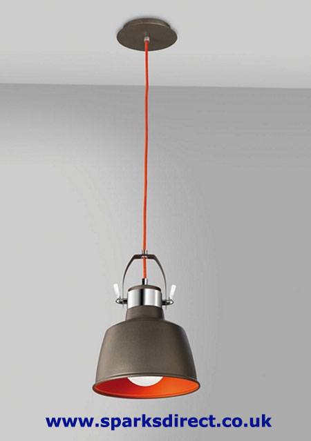 Urban Grey Wall Light and Vintage Pendant 00-0240-21-Z5
