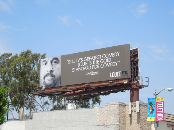 Louie Gold standard comedy Emmy billboard