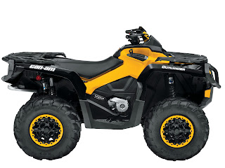 2013 Can-Am Outlander XT-P 1000 ATV pictures 2