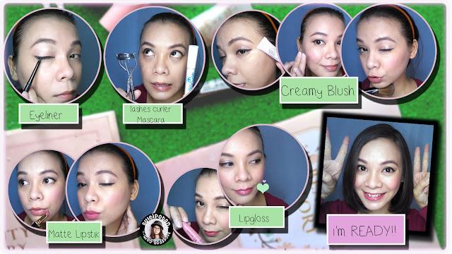 MOTD : Makeup Anak Kuliahan [Lokal + Drugstore Product]