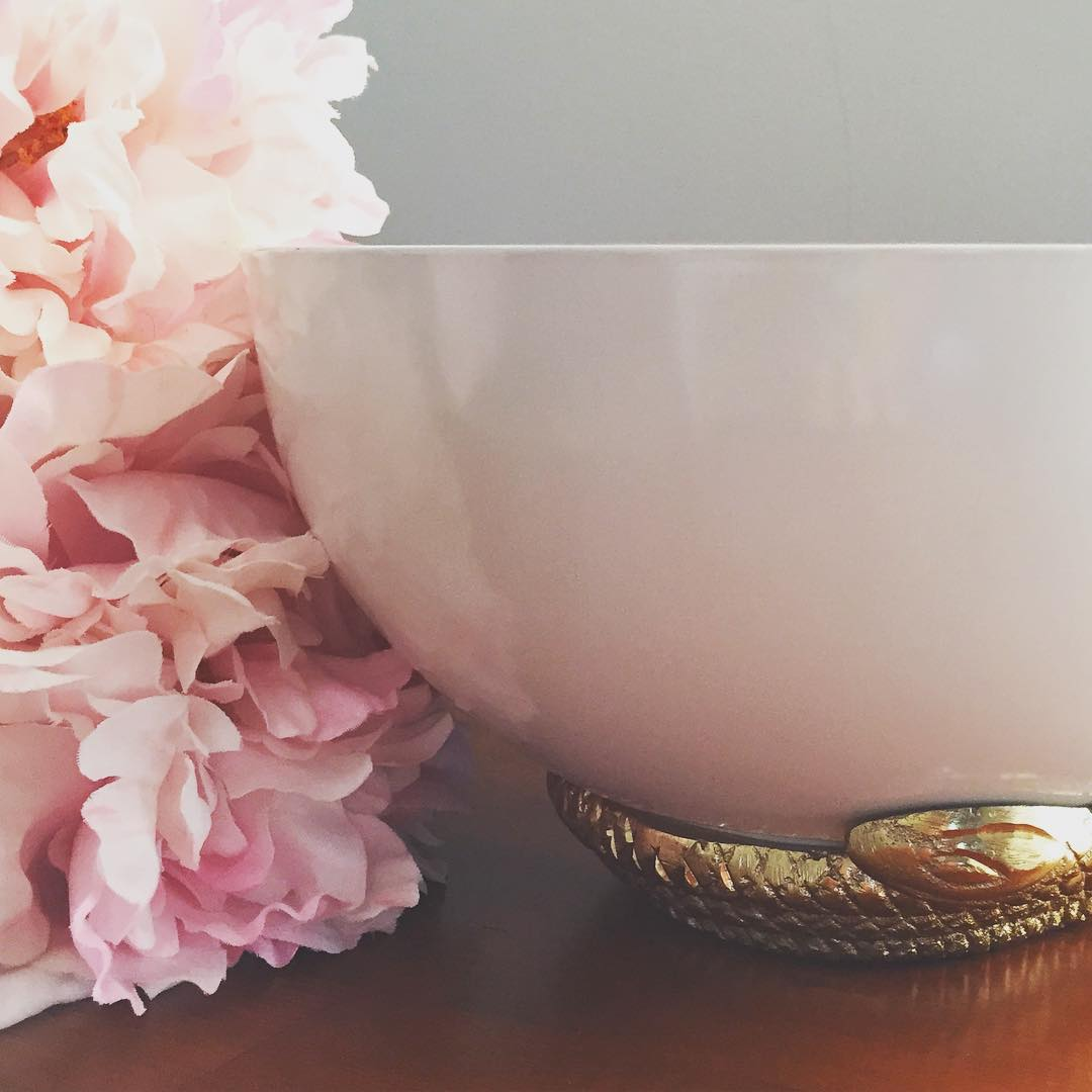 #thriftscorethursday Week 73 | Instagram user: casawatkins shows off this Snake Bowl by Nate Berkus