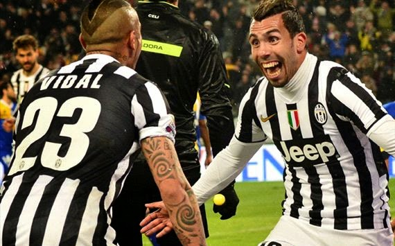 Hasil Pertandingan Juventus vs Parma 27 Maret 2014 - Juve Kian Kokoh di Puncak