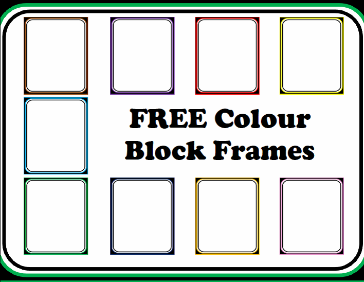 http://www.teacherspayteachers.com/Product/FREE-Colour-Block-Frames-and-Borders-1291751