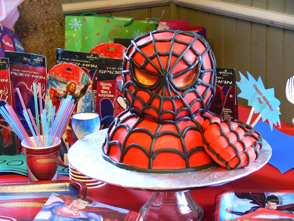 Ultimately Chocolate Cakes 3d Spiderman Cake For A Superhero Themed