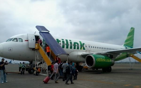 Pesawat Citilink Jakarta Balikpapan