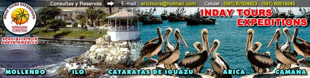 Viajes a las Playas de Arica, Mollendo, Camana y ilo. ERIC TOURS