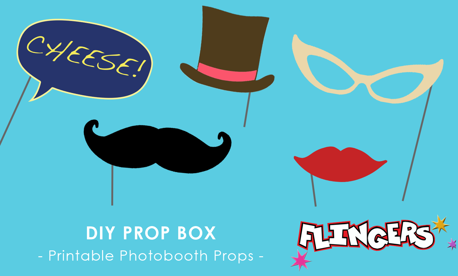 Flingers Party Shop Blog Diy Photobooth Props