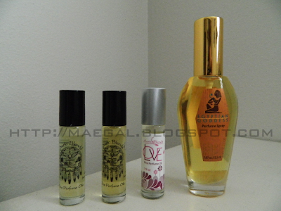 auric blends perfumes via maegal