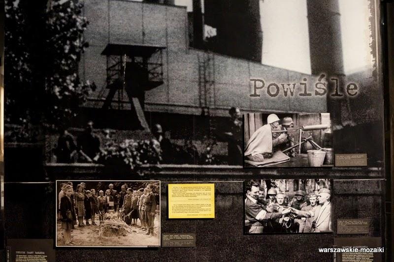 Powiśle Elektrownia Tramwajów Miejskich muzea warszawskie Warszawa Powstanie Warszawskie Wola ekspozycja Grzybowska