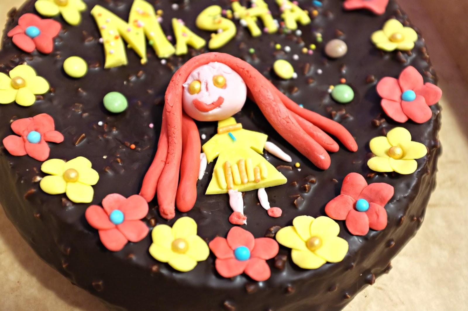 Простые торты для детей фото