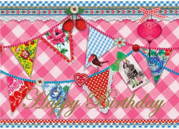Card Happy Birthday © PIP Studio