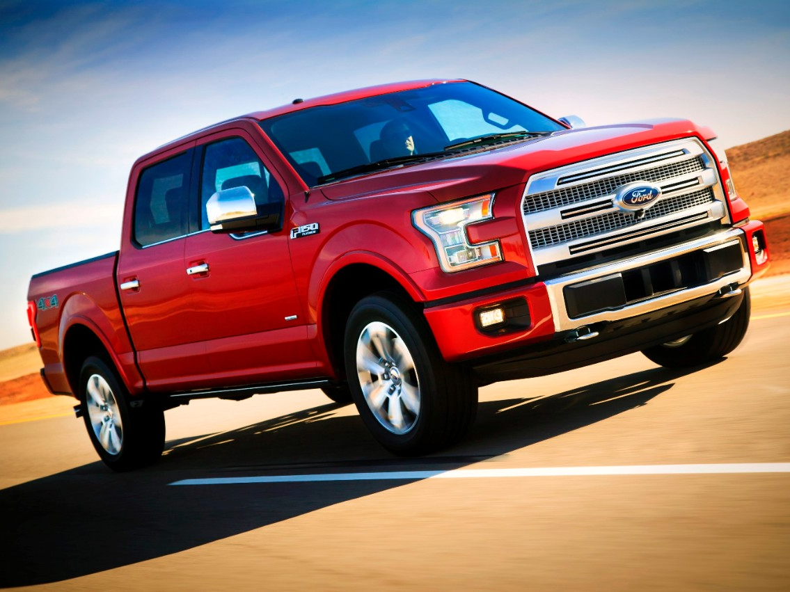 2015 F-150 is Ford's Most Patented Truck Ever