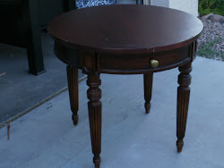 2 Round End Tables  *SOLD*