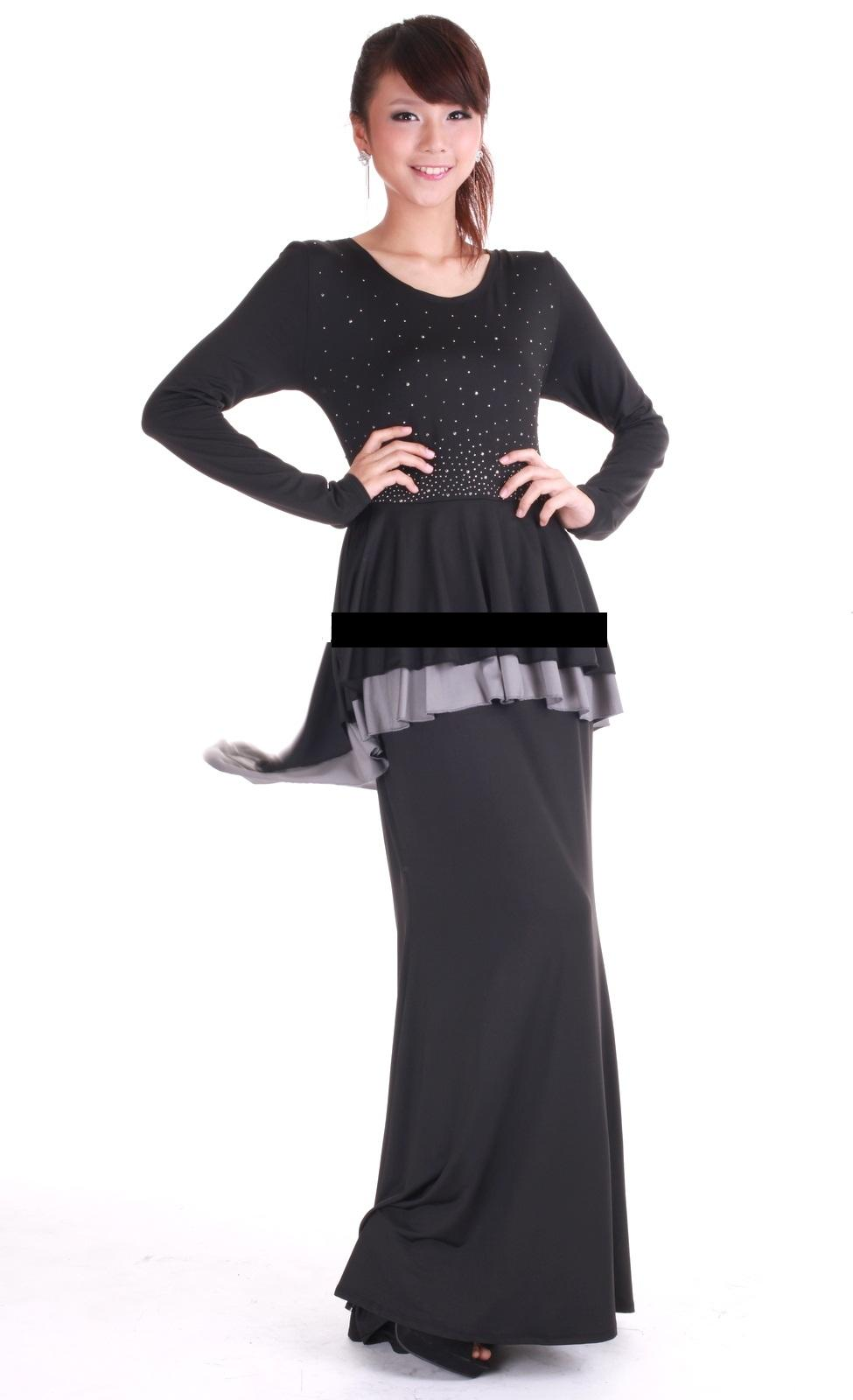KURUNG PEPLUM 2LAYER DIAMOND EMMA TERKINI DAN MURAH (FISH TALE)
