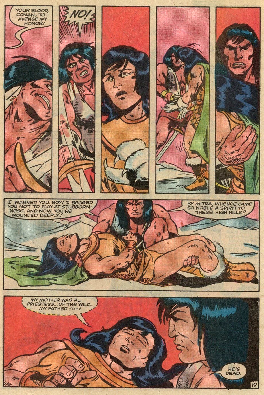 Conan the Barbarian (1970) Issue #145 #157 - English 20