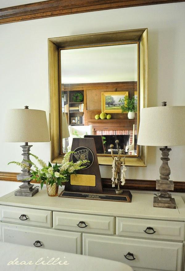 dear lillie an oil painting for our den. Black Bedroom Furniture Sets. Home Design Ideas
