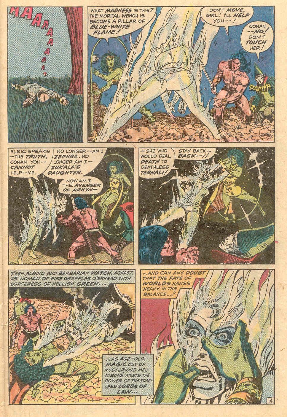 Conan the Barbarian (1970) Issue #15 #27 - English 15