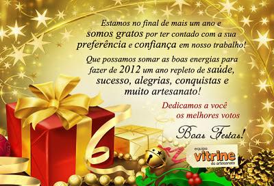 Um ótimo fim de ano!!