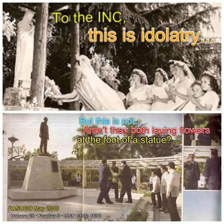 Ang samahang INC™ na tatag ni Felix Manalo ay nagbabawal ng pag-alay