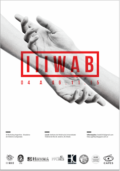 4 al 6 de noviembre: 3er. Workshop Argentino -  Brasileño de Historia Comparada (III WAB)