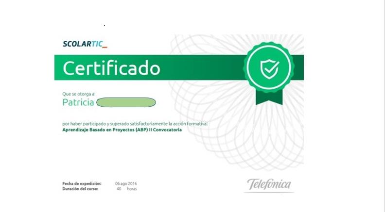 Certificado ABP
