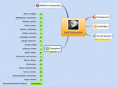 La mappa mentale si adatta automaticamente alle dimensioni dello schermo
