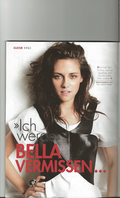 "Nueva Imagen de Kristen Stewart en ""Woman Magazine"" (Alemania) Sept, 2012 663124652"