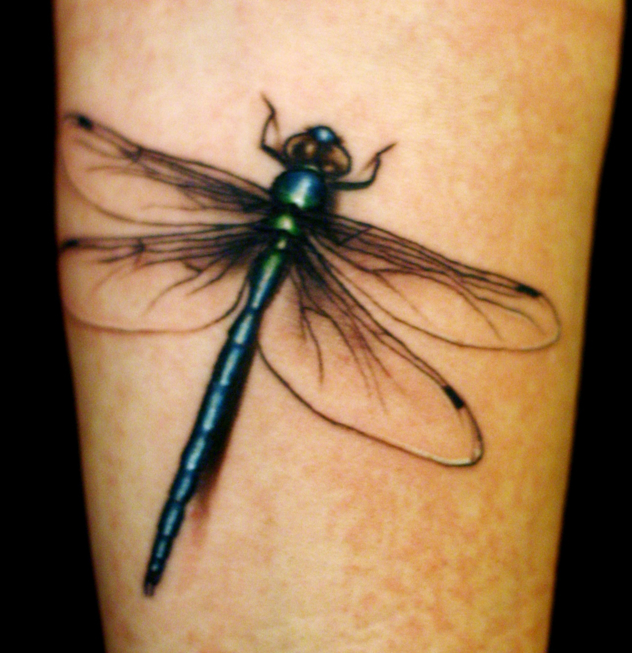 dragonfly tattoo3d tattoos. Black Bedroom Furniture Sets. Home Design Ideas