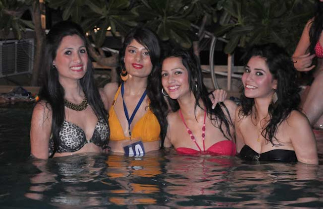 Indian pool party