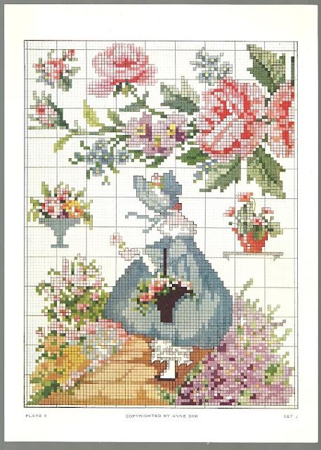 Sentimental Baby Vintage Ann Orr Cross Stitch Patterns